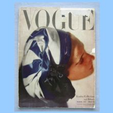 Vogue Magazine - 1947 - March